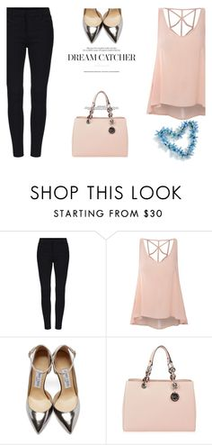 """""""#4"""" by lovefashioonn ❤ liked on Polyvore featuring Glamorous, Jimmy Choo, MICHAEL Michael Kors, women's clothing, women, female, woman, misses and juniors"""
