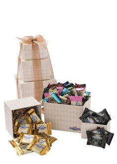 Ghirardelli Chocolate, Classic Elegance Tower, 2 Pound - http://bestchocolateshop.com/ghirardelli-chocolate-classic-elegance-tower-2-pound/