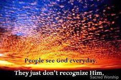 Do You Recognize Him? #God #Quotes