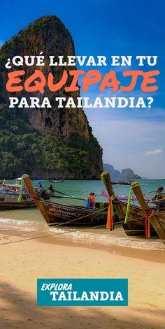 Ya te vas a Tailandia pero armar el equipaje suele ser una situación algo estresante, todo el tiempo pensando si hay algo esencial que estamos olvidando, o si hay algo que estamos llevando de más. Esta es la lista de todo lo que no pueden olvidar en su próximo viaje a Tailandia. #equipaje #islas #playas #tailandia #cosasparahacer #viajes #tailandiaviaje #guia #consejos