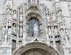 South Door Jeronimos Monastery Belem #Lisbon