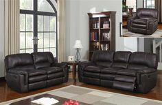 Printed Microfiber Living Room Set w/Soft Seat