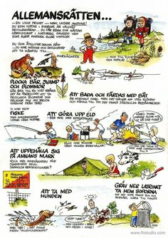Allemansrätten Waldorf Preschool, Learn Swedish, Swedish Language, Outdoor Education, School Posters, Outdoor School, Teaching Biology, Science And Nature, Fun Learning