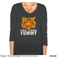 Tigress - You Look Yummy Ver. 2 Dark T-shirt