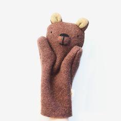 Bear Puppet - Brown