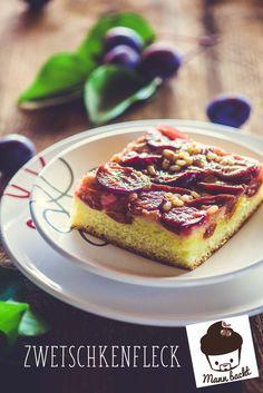 Zwetschkenfleck von mannbackt -  Mit einer dünnen Schicht Marzipanteig wird der klassische Zwetschkenfleck zur absoluten Geschmacksexplosion Marzipan, Easy, French Toast, Breakfast, Austria, Food, Desserts, Recipes, Sheet Cakes