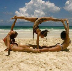 Don't like what they are wearing or the tattoos but I like the acrobatics of it.
