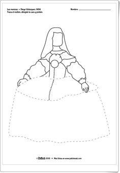 """Recursos didácticos para imprimir, ver, leer: """"Las meninas"""" de Velázquez (Patchimals.com)"""