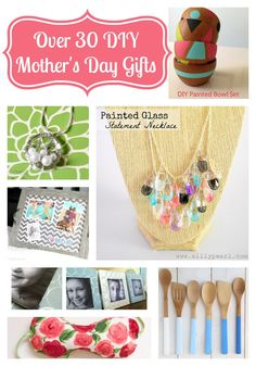 Over 30 DIY Mother's Day Gift Ideas {The Love Nerds} #mothersday #giftideas #crafts #diy