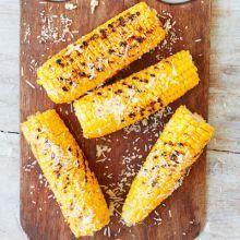 Cheesy corn on the cob