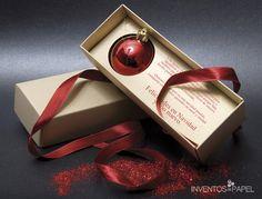Tarjeta de Invitación navideña #invitations #chritsmas #navidad
