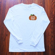 Glitter Monogram Pumpkin Fall Autumn by frecklefoxboutique on Etsy Monogram Shirts, Vinyl Shirts, Vinyl Designs, Shirt Designs, Heat Press Vinyl, Fall Shirts, Silhouette Cameo Projects, Silhouette Machine, Cricut Creations
