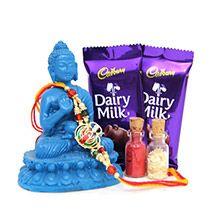 Rakhi N Buddha Idol