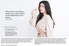 Favorite Words, Just Me, Being Used, Yuri, Kpop, Magazine, Magazines, Warehouse, Newspaper