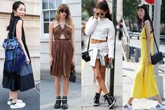 Spring-Summer 2017 street fashion trends