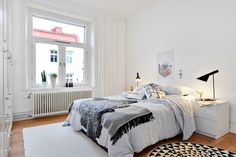 all white bedroom