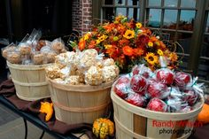 Very cool for a fall wedding, or even a fall party.   @Heather Robertson, this really looks like you! Love it!