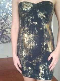 DIY foiled fashion from TODAY style editor bobbie thomas by clare