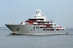 Superyacht Ulysses arrived in Germany today - New-Build - SuperyachtTimes.com