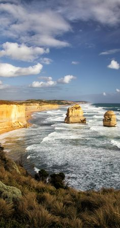 Australia travel - Great Ocean Road. Discover the secrets of  the Great Ocean Road on a self drive road trip along the coast. 12 Apostles, Loch Ard Gorge, a shipwreck beach and koala walk