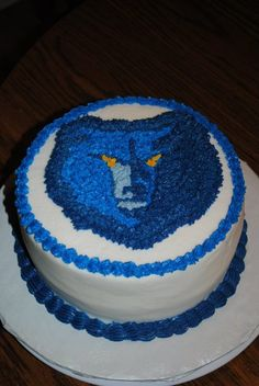 Memphis Grizzlies Jersey Birthday Cakes Boy Birthday