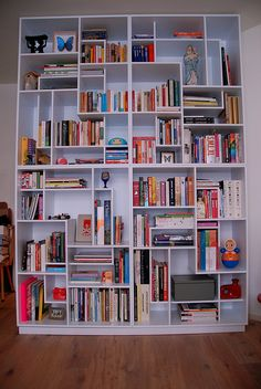 This Is Almost Exactly What My Idea In My Head Is Like For The Bookshelves!  Except I Want To Make It With Different Old Bookshelves.