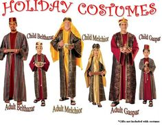 Biblical wise men christmas story costumes christmas pageant three wise men costumes google search solutioingenieria Choice Image