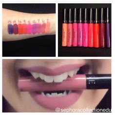 10 new shades of Sephora's Cream Lip Stain coming! Look at those colours!