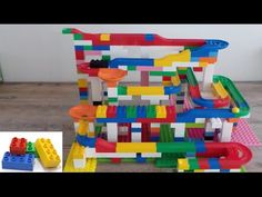 MEGA Knikkerbaan uitpakken en bouwen ~Unboxing and building MEGA marble run Lego Duplo, Runes, Marble, Christmas Gifts, Gift Ideas, Running, School, Building, Lego Duplo Table