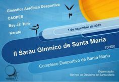 II Sarau Gímnico de Santa Maria « Desporto « Santa Maria Açores