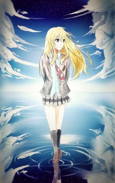 Anime Oc, Kawaii Anime, Manga Anime, I Never Forget You, Miyazono Kaori, Japanese Uniform, Anime Group, Your Lie In April, Kimi No Na Wa