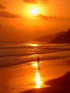 Sunset, El Zonte, El Salvador