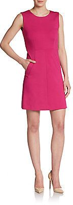 $99, Hot Pink Party Dress: Diane von Furstenberg Carpreena Mini Dress. Sold by Off 5th. Click for more info: https://lookastic.com/women/shop_items/209811/redirect