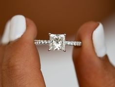 Unique Engagement ring & Wedding ring set Solid white/ rose/yellow gold Main Ring: Bottom Band Width approx Pear Cut Natural Pink Morganite,VS Clarity Round Cut Natural Conflict Free Diamonds,SI Clarity,H color Micro p 1 Carat Engagement Rings, Princess Cut Rings, Princess Cut Engagement Rings, Princess Car, Princess Cut Diamonds, Pretty Wedding Rings, Beautiful Engagement Rings, Diamond Solitaire Rings, Diamond Bands
