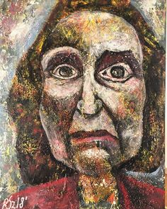 Hilda 30/40 acrylic on canvas by Reinecker Sandra
