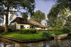 Giethoorn got its name when settlers found goat horns from the place many years ago.