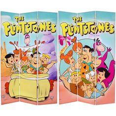 The Flintstones Room Divider