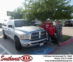 Congratulations to Robert Lacey on the 2005 Dodge Truck Ram 1500