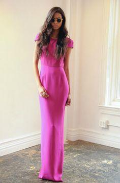 Jenni Kayne dress worn by Nikki Reed @ 2013 Golden Globes