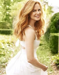 Nicole Kidman-she is my girl-crush. My favourite actress, she is so talented
