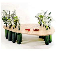 Seconary table on buffet?