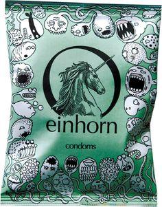 Die coolsten Monster - Vegane Kondome von Einhorn. Ein Muss für alle Veganer…