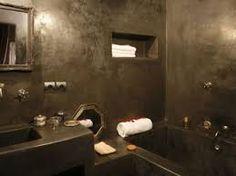 """Résultat de recherche d'images pour """"salle de bain tadelakt photos"""""""