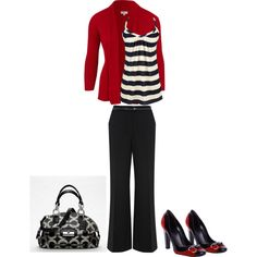 Cute Work Outfit, created by kristi-landers-eison