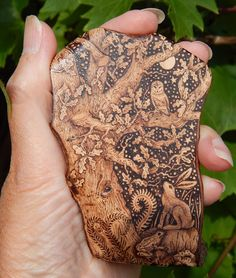 artist Gill Rippingale: ENCHANTED-ART - Pyrography and Illustration: Pyro-Art Pieces