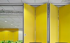 Espero offers added value in custom and increases the efficiency per with durable, aesthetic movable wall systems. Partition Wall Movable, Folding Partition, Movable Walls, Partition Walls, Murs Mobiles, Module, Coworking Space, Windows, Architecture