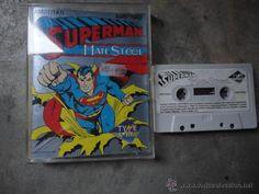 AMSTRAD SUPERMAN MAN STEEL 1989
