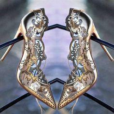 Retro Hollow Out Bandage Stiletto Pumps Fancy Shoes, Pretty Shoes, Beautiful Shoes, Cute Shoes, Stilettos, Stiletto Pumps, Pumps Heels, Wedding Shoes Heels, Bride Shoes
