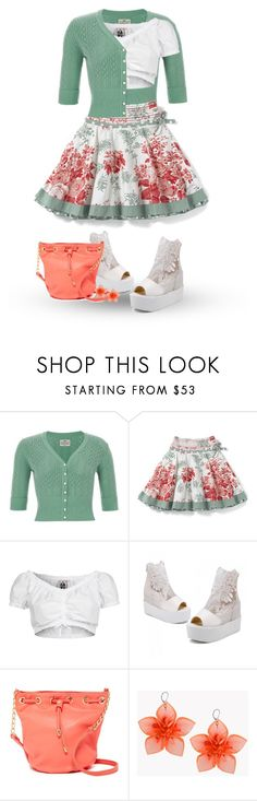 """タイトルなし #1132"" by papee ❤ liked on Polyvore featuring Monsoon, GERMAN PRINCESS, JY Shoes, Deux Lux and Dsquared2"