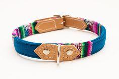 Blue INCA Dog Collar